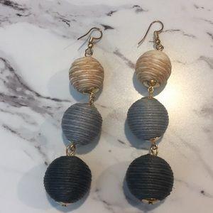 Jewelry - 5 for $15 Ombré Thread Ball Earrings